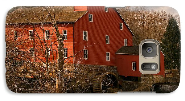 Galaxy Case featuring the photograph Clinton Mill by Robert Pilkington