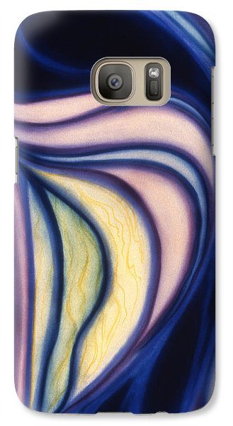 Galaxy Case featuring the pastel Cloak by Susan Will