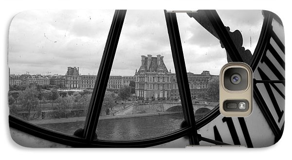 Louvre Galaxy S7 Case - Clock At Musee D'orsay by Chevy Fleet