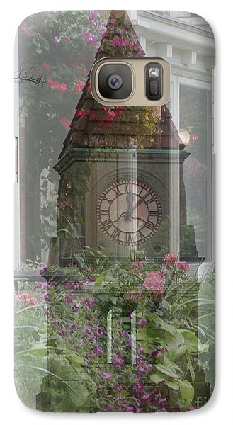 Galaxy Case featuring the photograph Clock Tower by George Mount