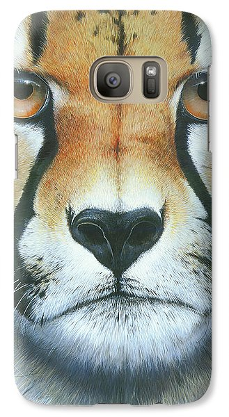 Galaxy Case featuring the painting Close To The Soul by Mike Brown
