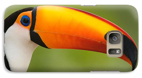 Toucan Galaxy S7 Case - Close-up Of A Toco Toucan Ramphastos by Panoramic Images