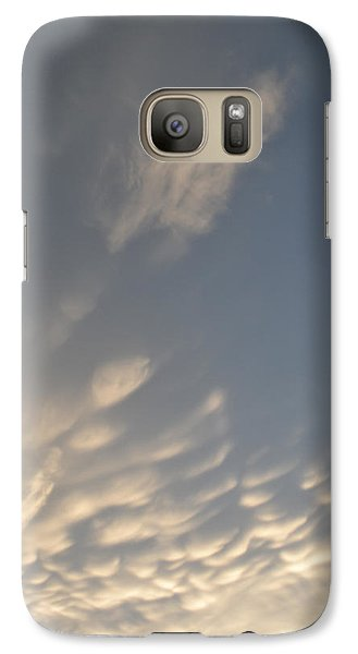 Galaxy Case featuring the photograph Cloud Bottoms  by Lyle Crump