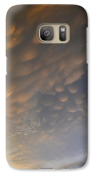 Galaxy Case featuring the photograph Cloud Ceiling 3  by Lyle Crump