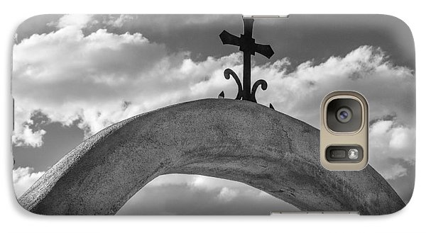 Galaxy Case featuring the photograph Cloud Cross by Steven Bateson