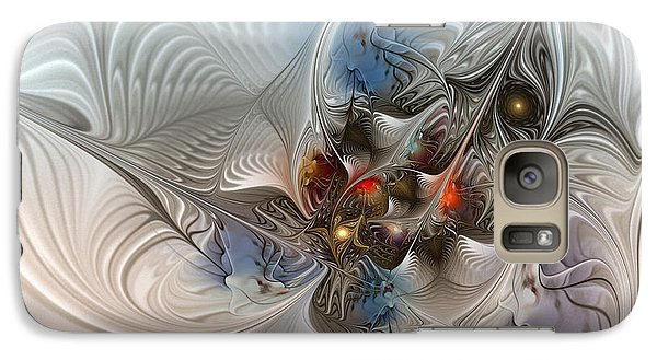 Cloud Cuckoo Land-fractal Art Galaxy S7 Case by Karin Kuhlmann