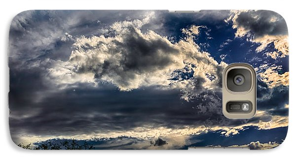 Galaxy S7 Case featuring the photograph Cloud Drama by Mark Myhaver