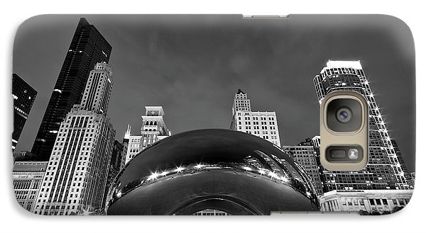 Cloud Gate And Skyline Galaxy S7 Case