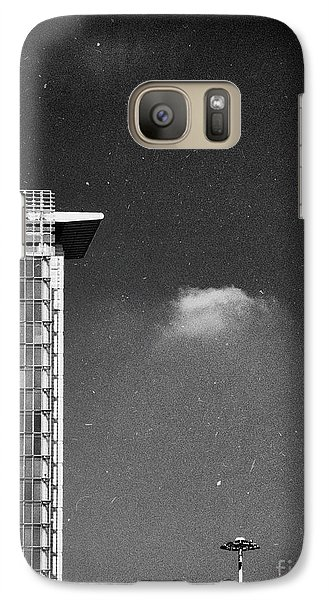 Galaxy S7 Case featuring the photograph Cloud Lamp Building by Silvia Ganora