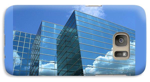 Galaxy Case featuring the photograph Cloud Mirror by Ann Horn