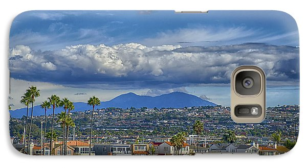 Galaxy Case featuring the photograph Cloud Over Saddleback Mountain by Joseph Hollingsworth