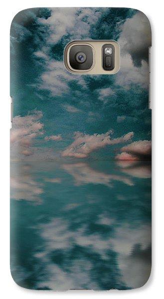 Galaxy Case featuring the photograph Cloud Reflections by John Stuart Webbstock
