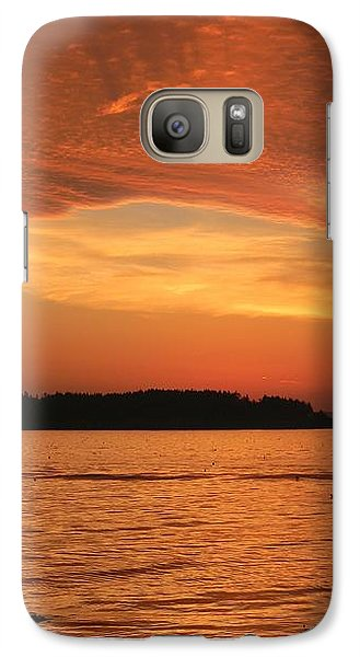 Galaxy Case featuring the photograph Cloud Shadows by Jean Goodwin Brooks