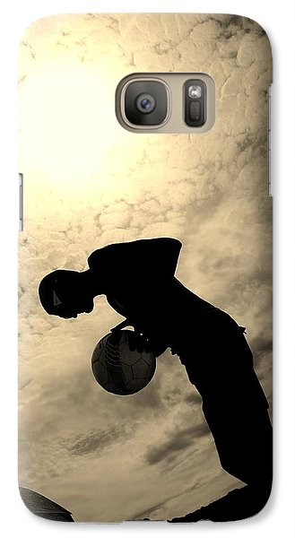 Galaxy Case featuring the photograph Cloudburn by Maria  Disley