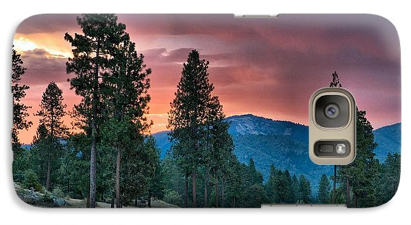 Galaxy Case featuring the photograph Clouded Sunrise by Julia Hassett