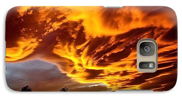 Galaxy Case featuring the photograph Clouds 2 by Pamela Cooper