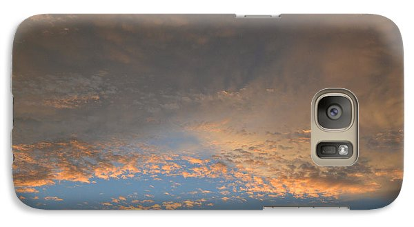 Galaxy Case featuring the photograph Clouds Above Trees 2  by Lyle Crump