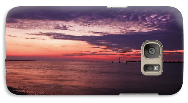 Galaxy Case featuring the photograph Clouds After Sunset by Mohamed Elkhamisy