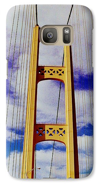 Galaxy Case featuring the photograph Clouds by Daniel Thompson