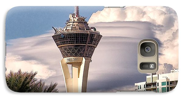 Galaxy Case featuring the photograph Clouds Make Vegas by Michael Rogers