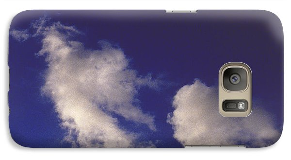 Galaxy Case featuring the photograph Clouds by Mark Greenberg