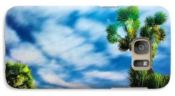 Galaxy Case featuring the photograph Clouds On The Move by Angela J Wright