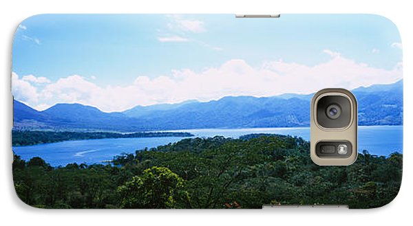 Clouds Over A Volcano, Arenal Volcano Galaxy Case by Panoramic Images