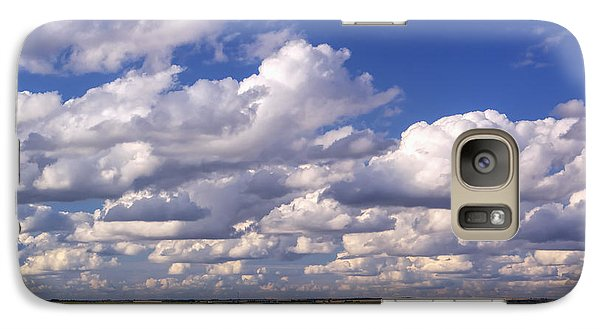 Galaxy Case featuring the photograph Clouds Over Cheyenne Bottoms by Rob Graham