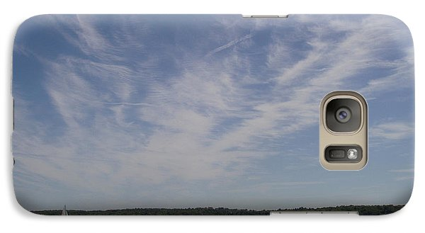 Galaxy Case featuring the photograph Clouds Over Long Island Sound by John Telfer