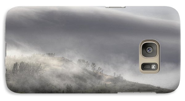 Galaxy Case featuring the photograph Clouds Over Sleeping Bear Dunes 1 by Trey Foerster