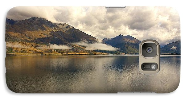Galaxy Case featuring the photograph Clouds Over Wakatipu #1 by Stuart Litoff