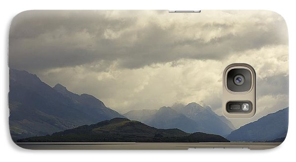Galaxy Case featuring the photograph Clouds Over Wakatipu #2 by Stuart Litoff