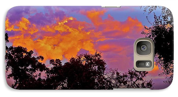 Galaxy Case featuring the photograph Clouds by Pamela Cooper