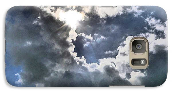 Galaxy Case featuring the photograph Clouds by Winifred Butler