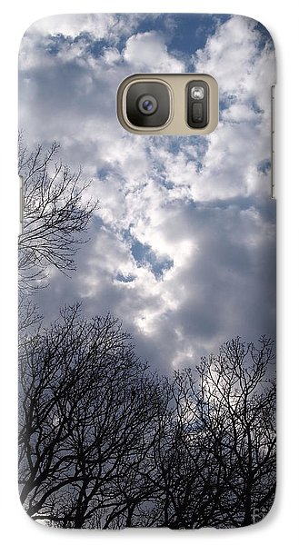 Galaxy Case featuring the photograph Cloudscape by Nancy Kane Chapman