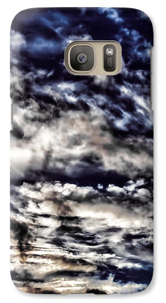Galaxy Case featuring the photograph Cloudstract by David Stine