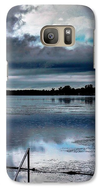 Galaxy Case featuring the photograph Cloudy by Michaela Preston