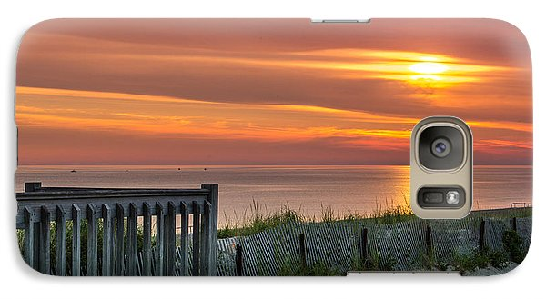 Galaxy Case featuring the photograph Sandy Neck Beach Sunrise by Mike Ste Marie