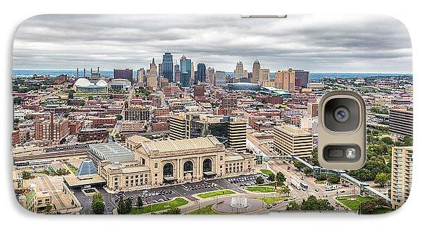 Cloudy Sky Over Kansas City Galaxy S7 Case