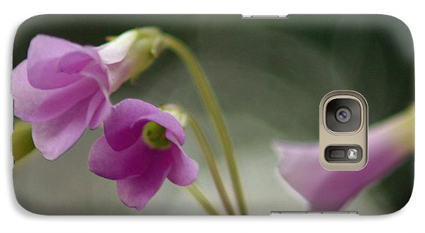 Galaxy Case featuring the photograph Clover Bells by Greg Allore