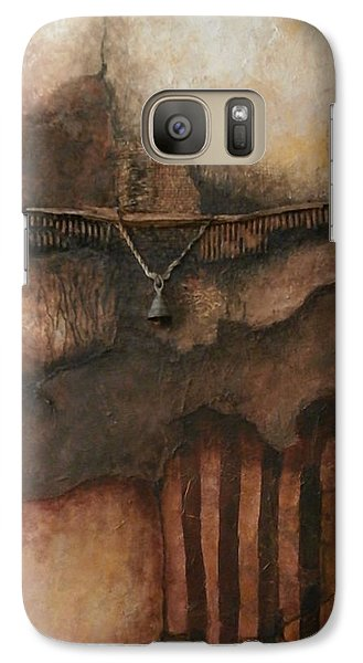 Galaxy Case featuring the painting Clown Pants by Buck Buchheister