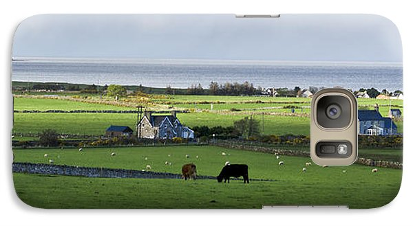 Galaxy Case featuring the photograph Clyneview Panorama Scotland by Sally Ross