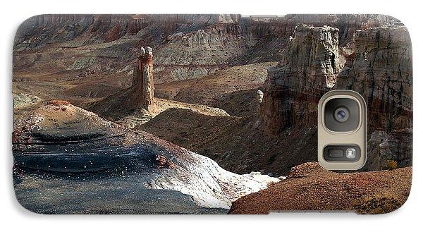 Galaxy Case featuring the photograph Coal Mine Mesa 09 by Jeff Brunton