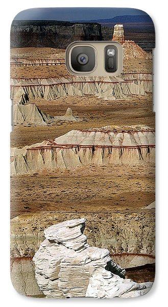 Galaxy Case featuring the photograph Coal Mine Mesa 19 by Jeff Brunton