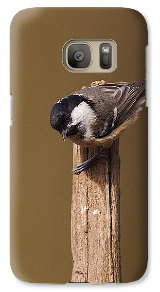 Galaxy Case featuring the photograph Coal Tit by Paul Scoullar