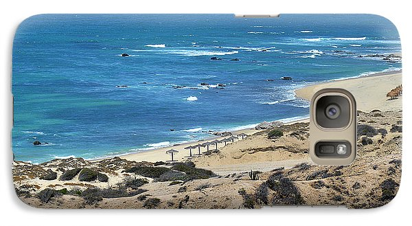 Galaxy Case featuring the photograph Coast Baja California by Christine Till