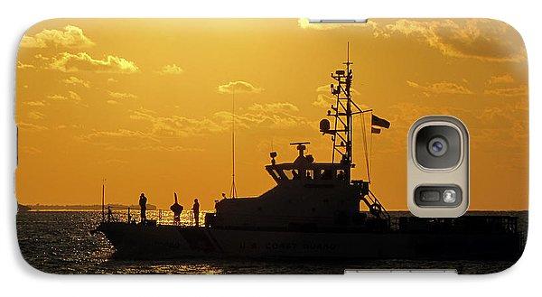 Coast Guard In Paradise - Key West Galaxy S7 Case