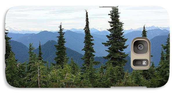 Galaxy Case featuring the photograph Coast Mountain Range by Gerry Bates