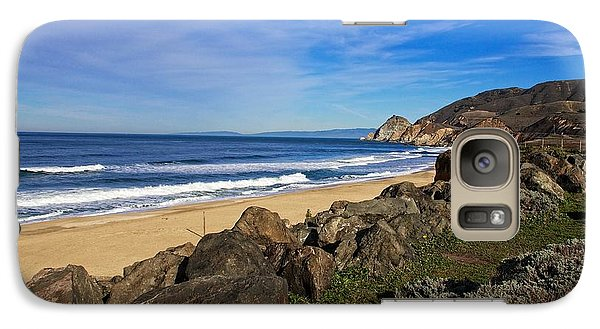 Galaxy Case featuring the photograph Coastal Beauty by Dave Files