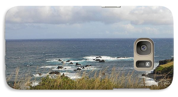 Galaxy Case featuring the photograph Coastal Grass by Fred Wilson